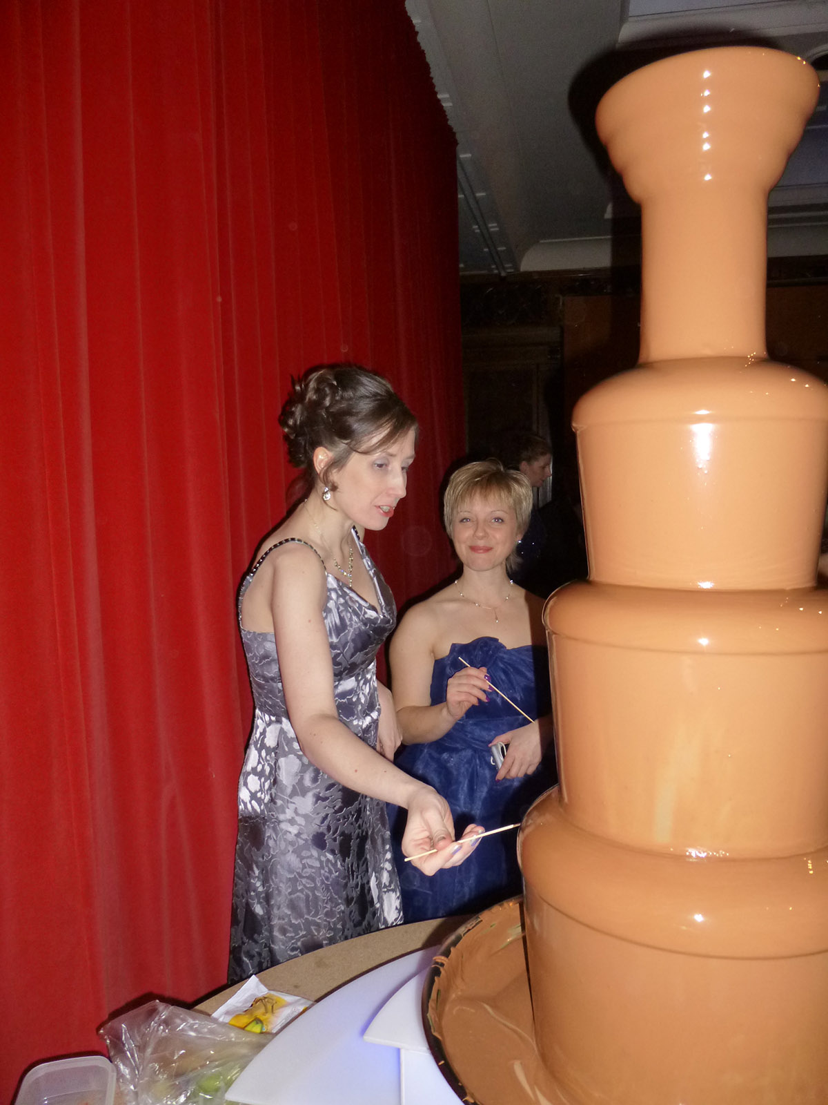 Chocolate Fountain as our ball event